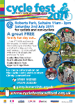 Cycle Fest flyer 2011